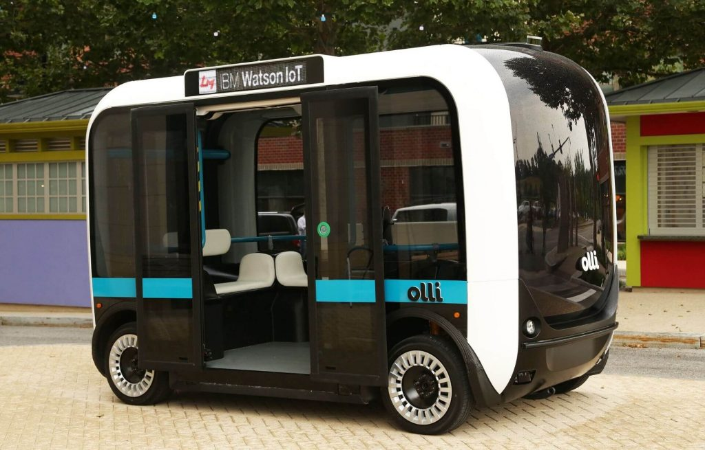 Olli bus stampato 3D