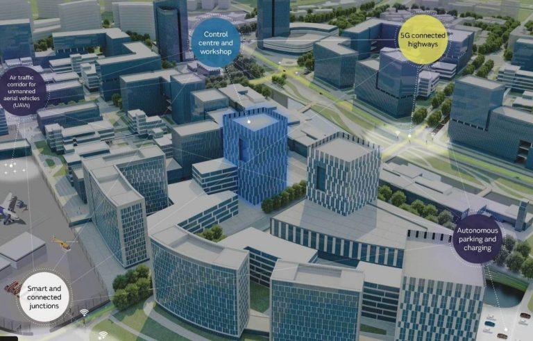 Una smart city per le auto a guida autonoma