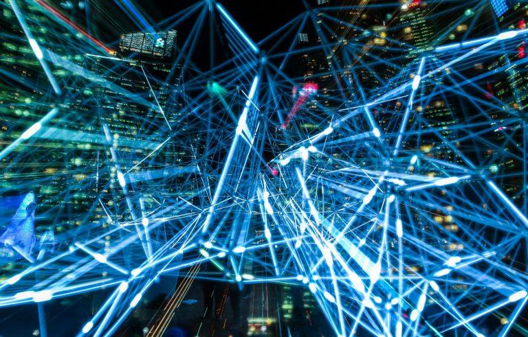 fibra ottica rete connessione