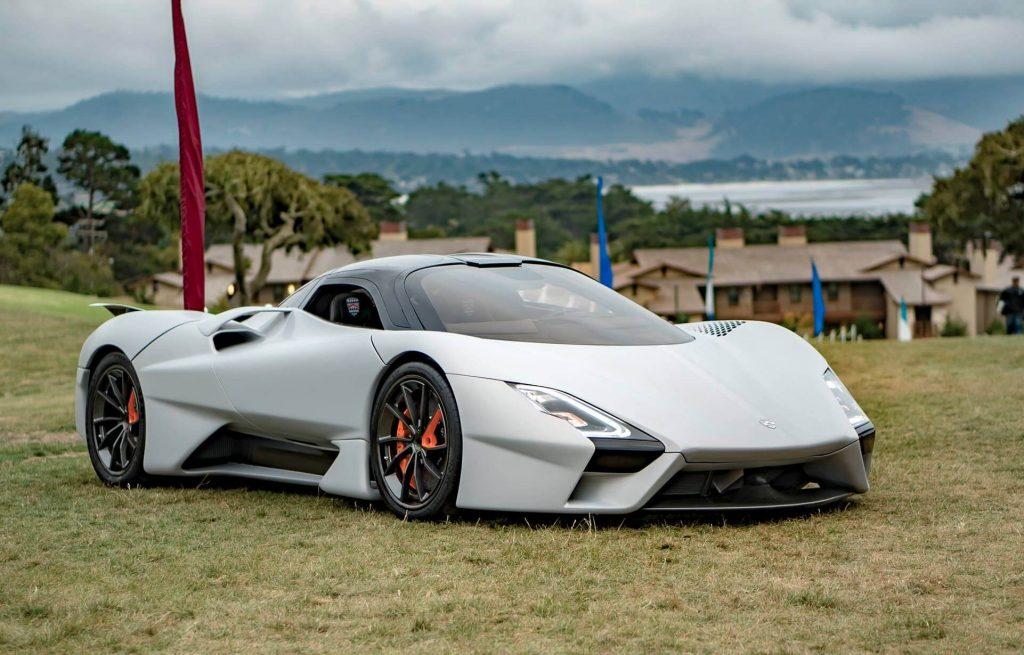 Auto da record supera i 500 km orari