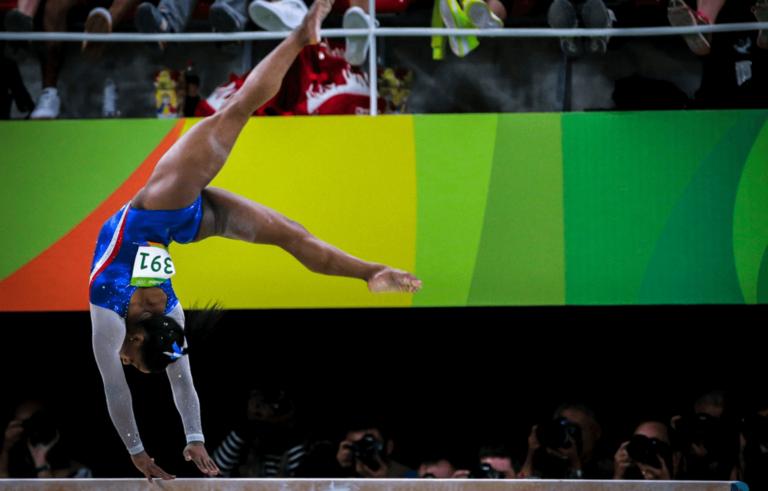 Influencer sportivi: la regina è Simone Biles