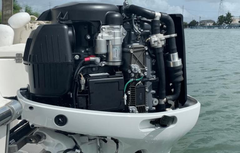 Un motore che pulisce il mare